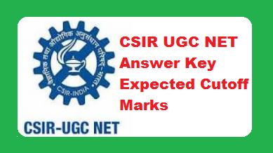 CSIR UGC NET Answer Key 2019