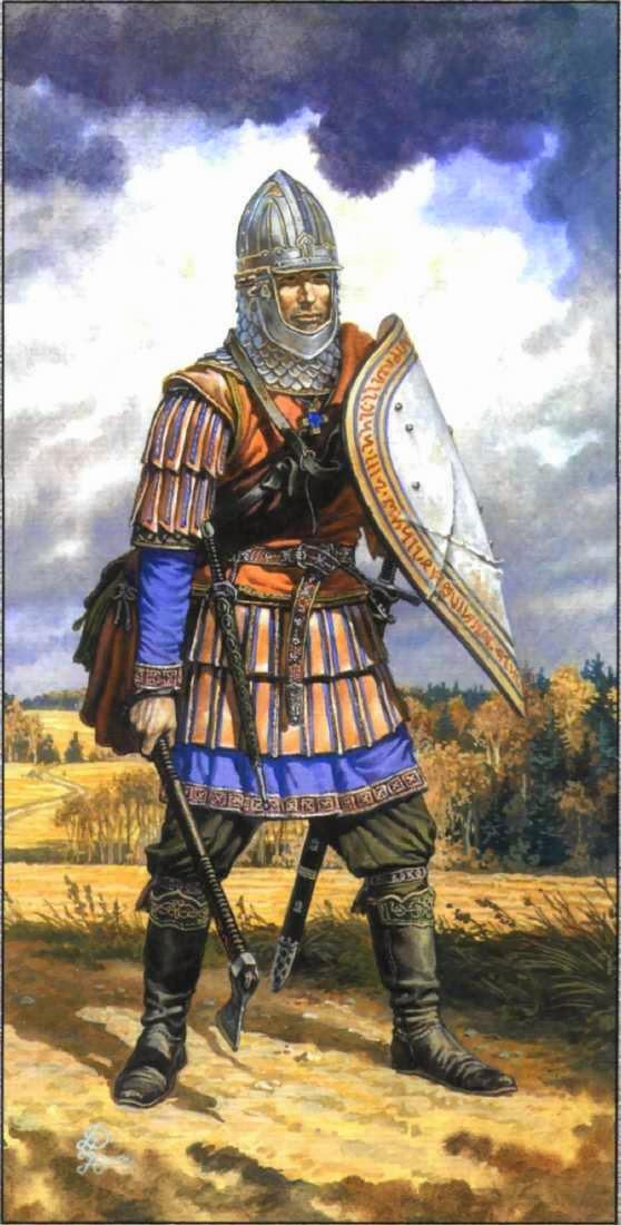 картинки солдаты древняя русь
