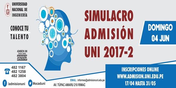UNI 2017-2 Simulacro Examen