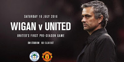 Manchester United vs Wigan Jadi Debut Jose Mourinho