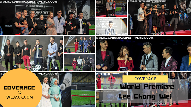 """[Coverage] World Premiere of """"Lee Chong Wei"""""""