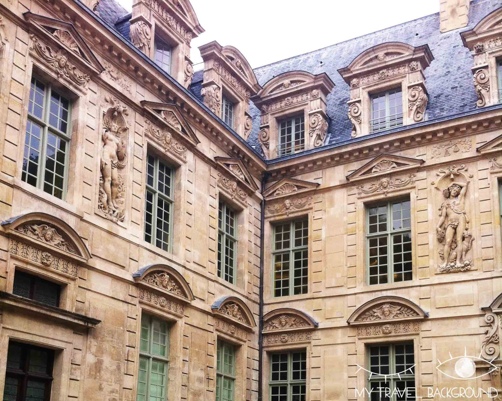 My Travel Background : #ParisPromenade, Le Marais - L'hôtel de Sully
