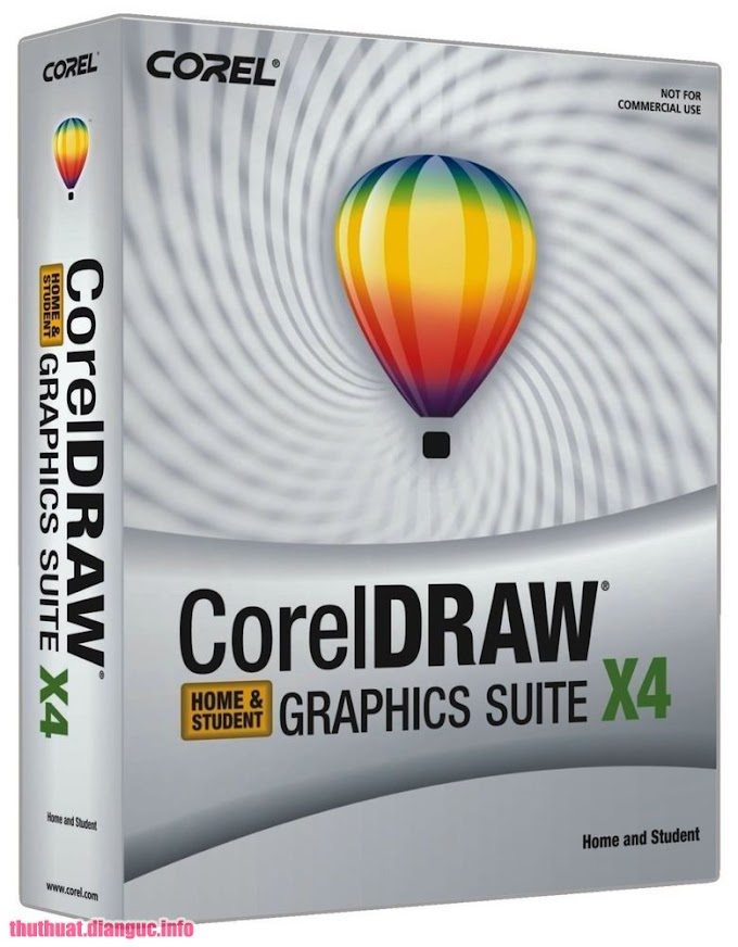 Download Corel Draw X4 Graphics Suite v14 Full Keygen + Hướng dẫn crack