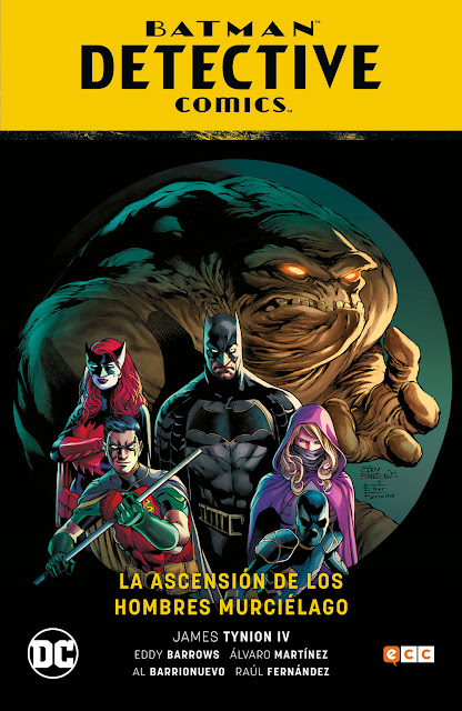 """Reseña de """"Batman: Detective Comics vol. 01: La ascensión de los Hombres Murciélago"""" de James Tynion IV, Eddy Barrows y Álvaro Martínez - ECC Ediciones"""