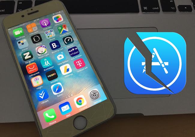 how to crash iphone 7