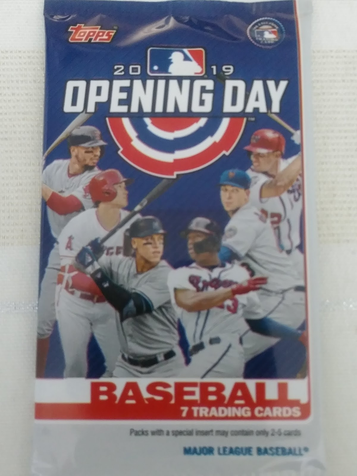 a63e72bbfbb A Pack To Be Named Later  2019 Topps Opening Day Retail