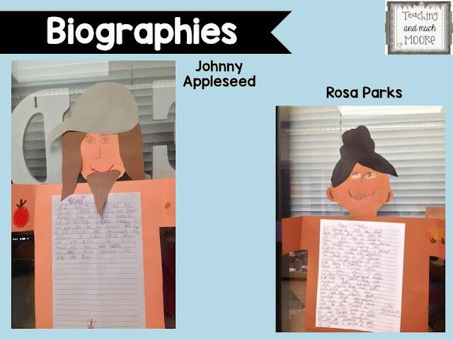 biographies third grade