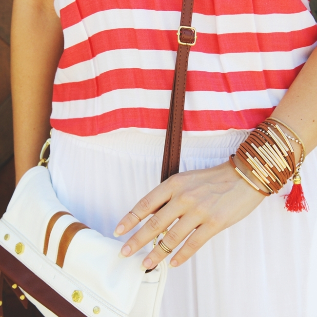 Suede bracelet trends arm party