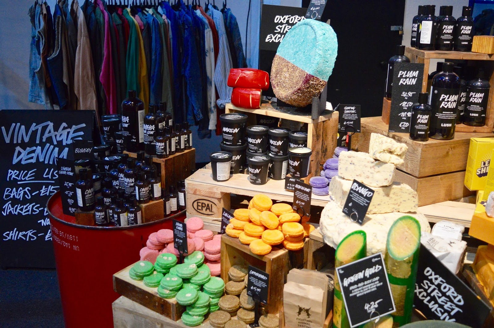 Lush Creative Showcase Shop