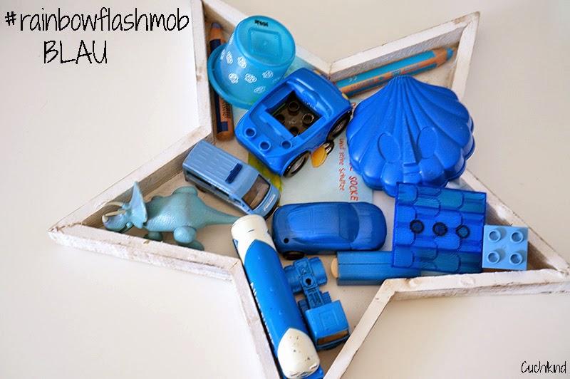 rainbowflashmob blau