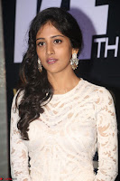 Chandini Chowdary in white Tight dress at Shamanthakamani pre release function ~  Exclusive 060.JPG