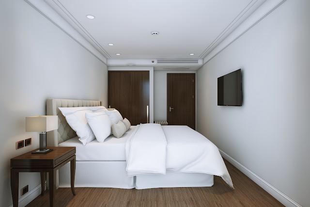 Phòng ngủ của Alphanam Luxury