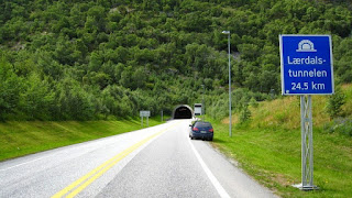 The Lærdal Tunnel