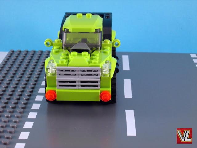 Set LEGO Creator 31007 Power Mech - heavy-duty pickup truck (modelo 2)