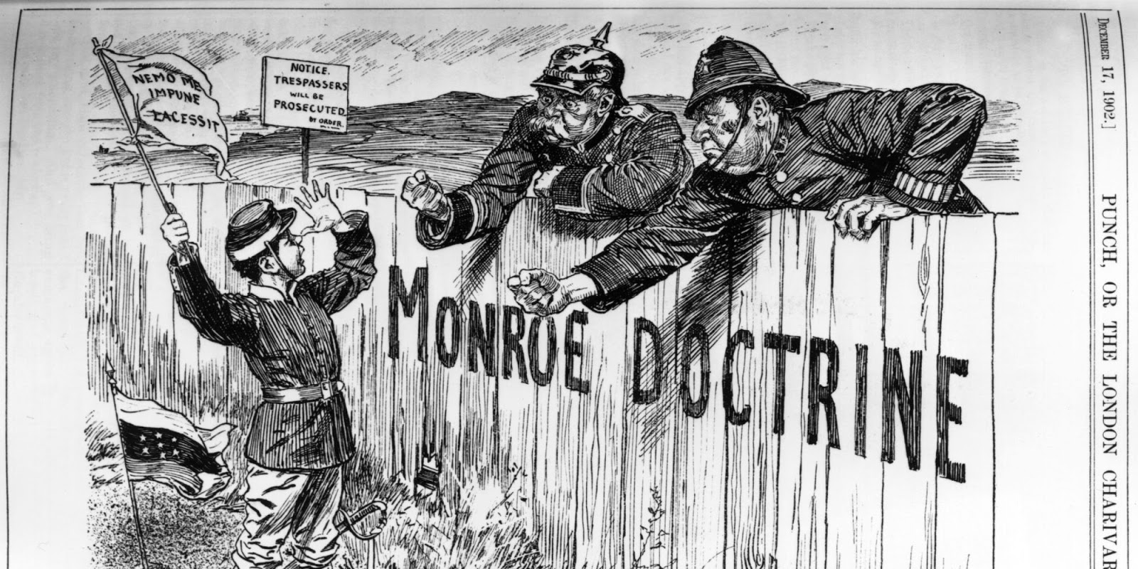 Political Cartoon Project: The Monroe Doctrine
