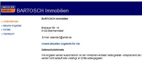Immobilienmakler Forchheim wohnungsbetrug com vorkassebetrüger mit sopaxa gmail com aleender2 email de