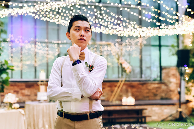 A special day to look good on buddy's wedding with Samsung Galaxy Watch 42mm Black
