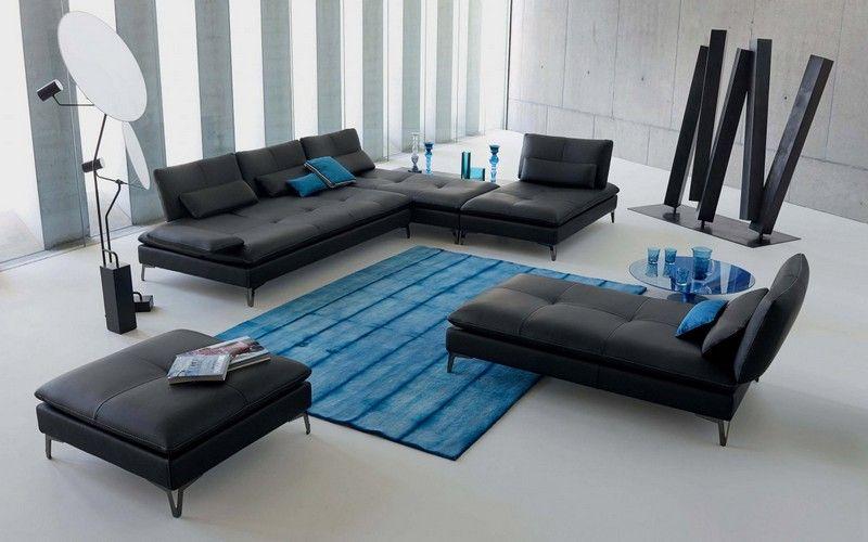 10 Salas con sofás color gris - Ideas de salas con estilo