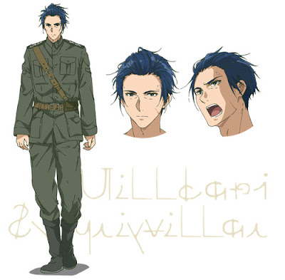 Desain Karakter Untuk Anime 'Violet Evergarden' Diperlihatkan