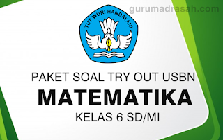 soal try out sd matematika