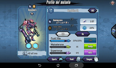 Mutants: Genetic Gladiators video N°380 Fusion Planet Cleaner - Fusione Devastatore