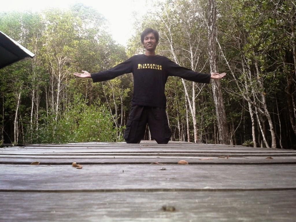 Di Tracking Mangrove Kemujan, Karimunjawa