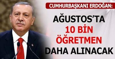 10 bin Atama Sözü Unutuldu