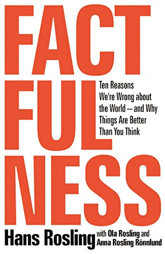 Factfulness: Ten Reasons We're Wrong About the World--and Why Things Are Better Than You Think - Um dos 5 livros que Bill Gates recomendou