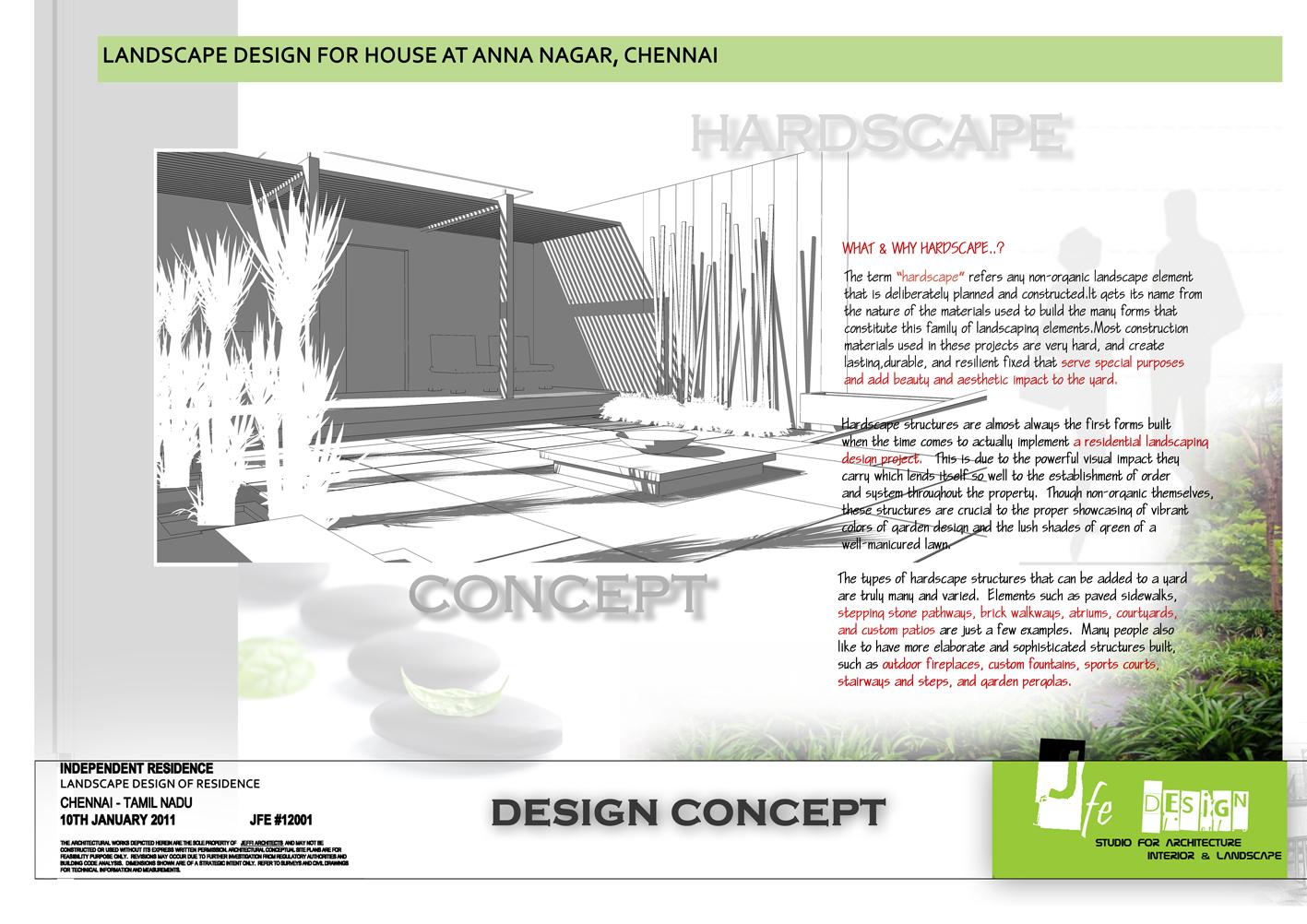 Landscape Design Residence