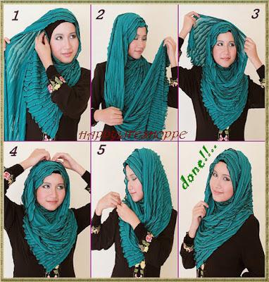 Tutorial Dan Cara Memakai Hijab Pashmina Biar Bisa Tampil Modern Tapi Simpel