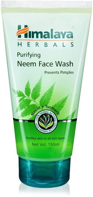 Top 10 Paraben-Free Face Wash in India for Oily, Sensitive, and Acne-Prone Skin -Himalaya Herbals Neem Face Wash
