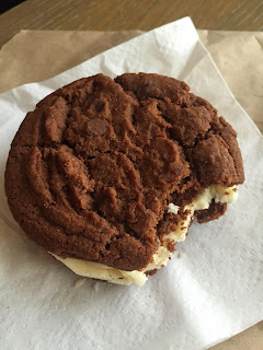 Ms Cupcake Double Chocolate Chip Cookie Sandwich Vegan London
