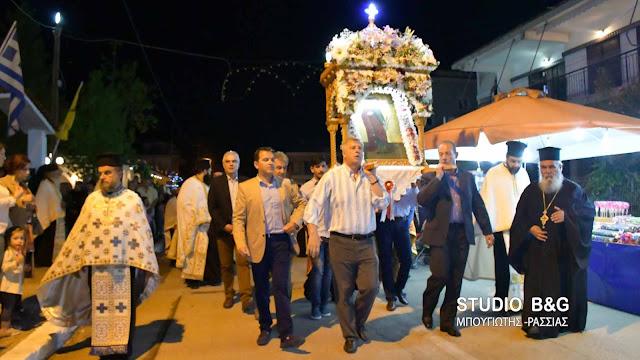 Αργολίδα: Η Νέα Κίος γιορτάζει την Μεγαλομάρτυρα Αγία Ειρήνη (βίντεο)