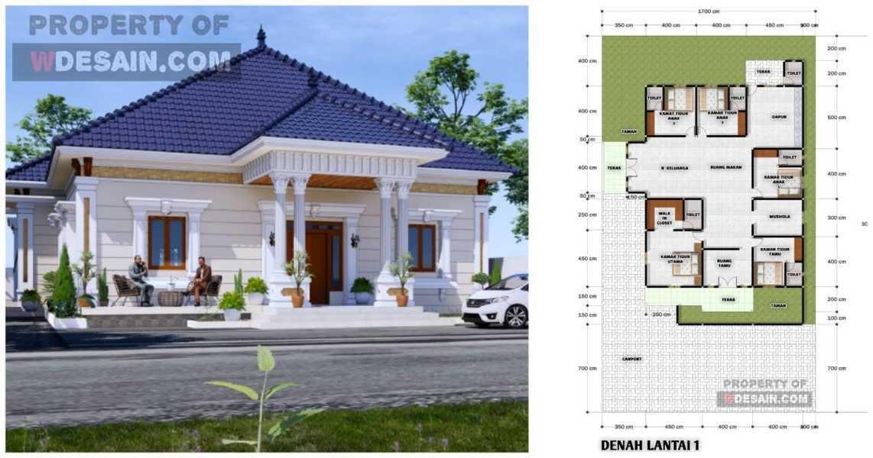 Desain Rumah Mewah Klasik Modern Dilengkapi Teras Samping Desain Rumah Minimalis