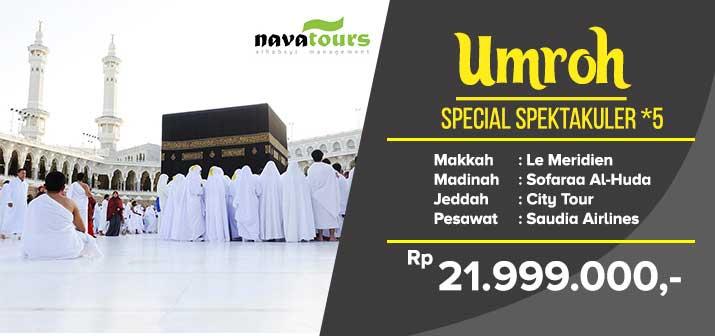 Umroh Special Spektakuler *5 Nava Tour Bekasi