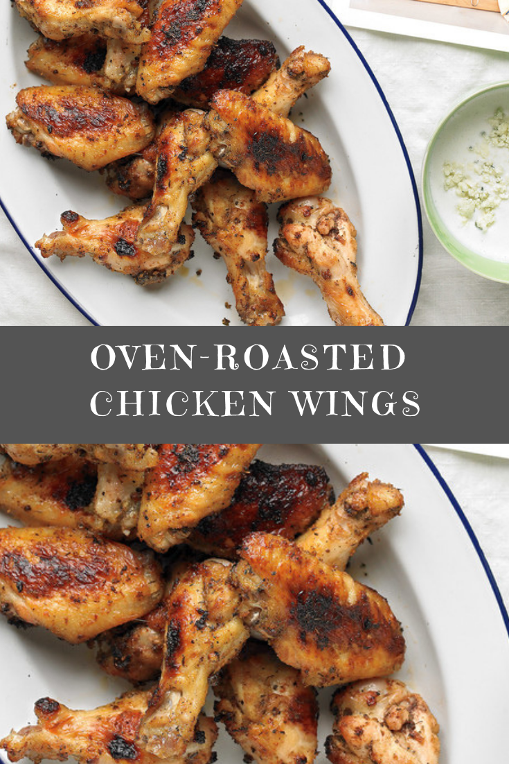 Oven-Roasted Chicken Wings Recipe