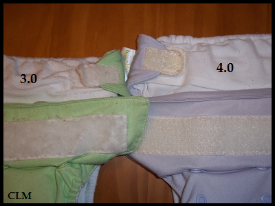 Sizes of Cloth Diapers