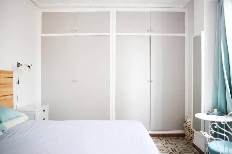 armarios dormitorio pintados
