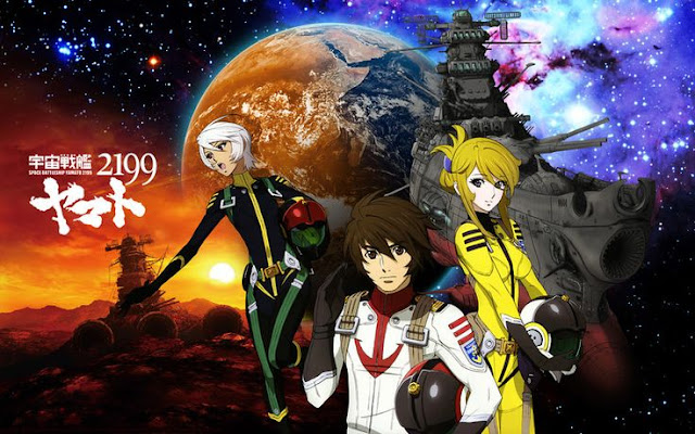 Grafika promocyjne Yamato 2199