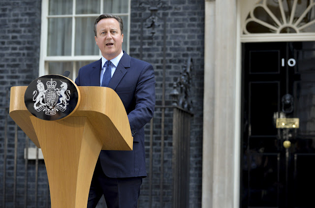 Full text of David Cameron's departing speech as PM