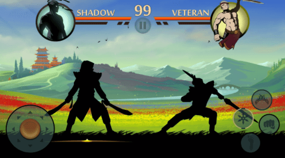 تحميل لعبة shadow fight 2 مهكرة apk