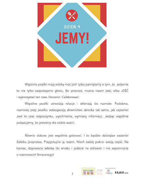TYDZIEŃ BEZ NETA TV I TABLETA DZIEŃ 4 JEMY