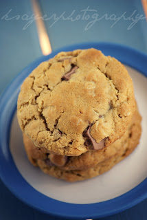 Lower Fat Chocolate Chip Cookies