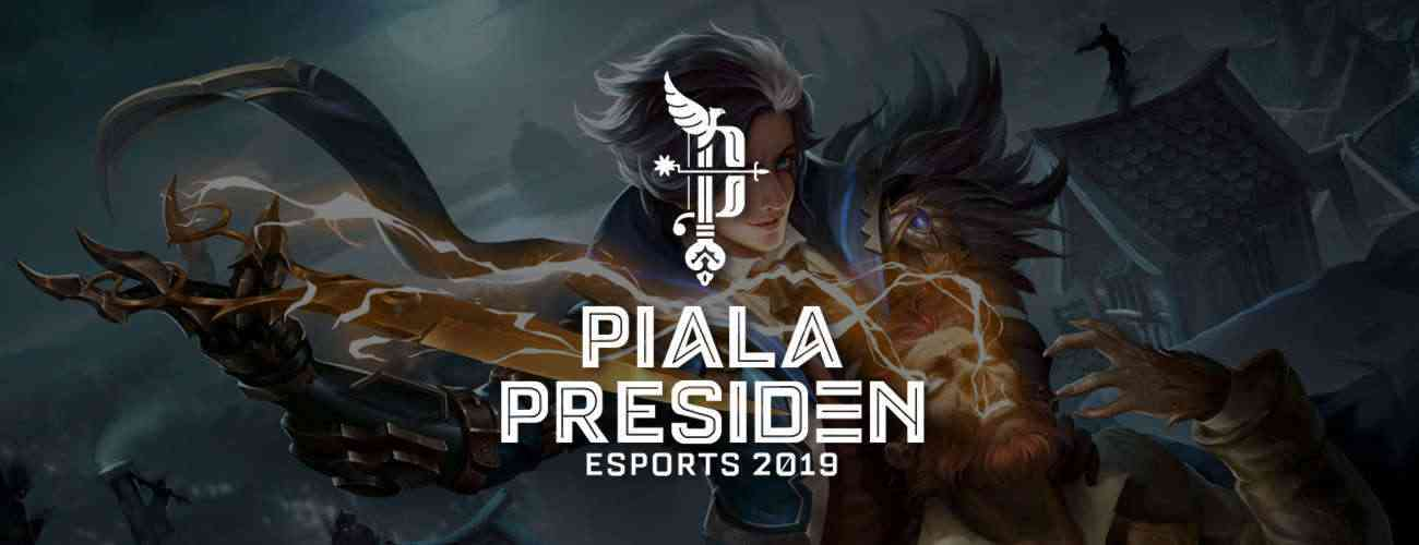 Jadwal Pendaftaran dan Info Piala Presiden Esports 2019