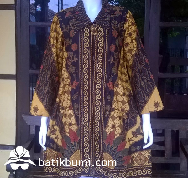 Tunik Batik Sogan Sinaran w/ Trikot