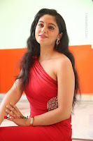 Actress Zahida Sam Latest Stills in Red Long Dress at Badragiri Movie Opening .COM 0222.JPG