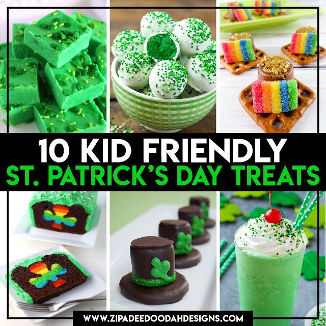 10 Kid Friendly St Patrick S Day Treats Zip A Dee Doo Dah Designs