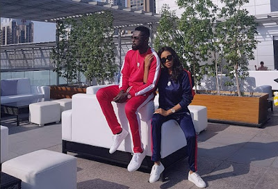 Photo of Yomi casual and wife in Dubai