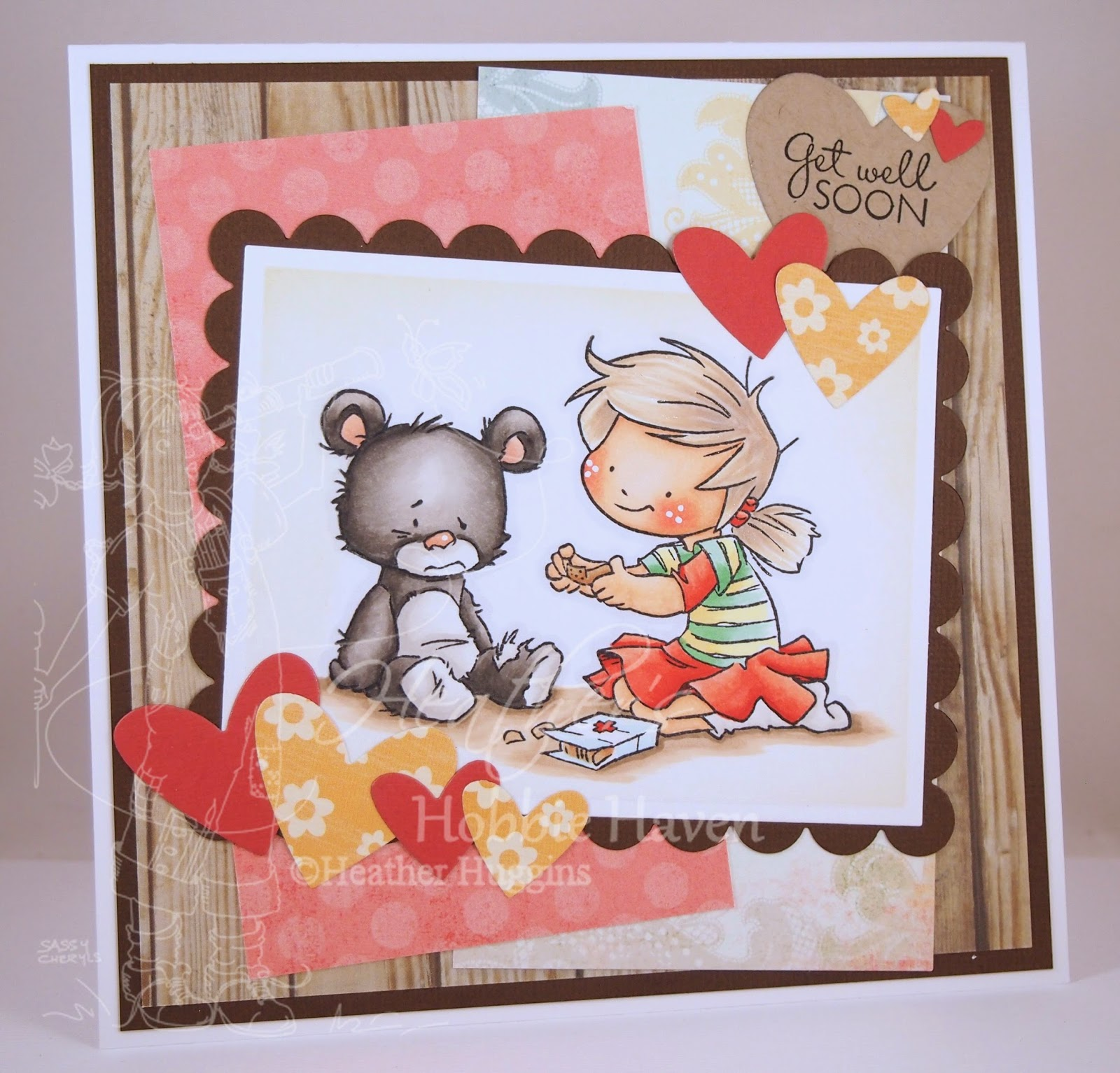 Heather's Hobbie Haven - I Will Take Care of You Card Kit