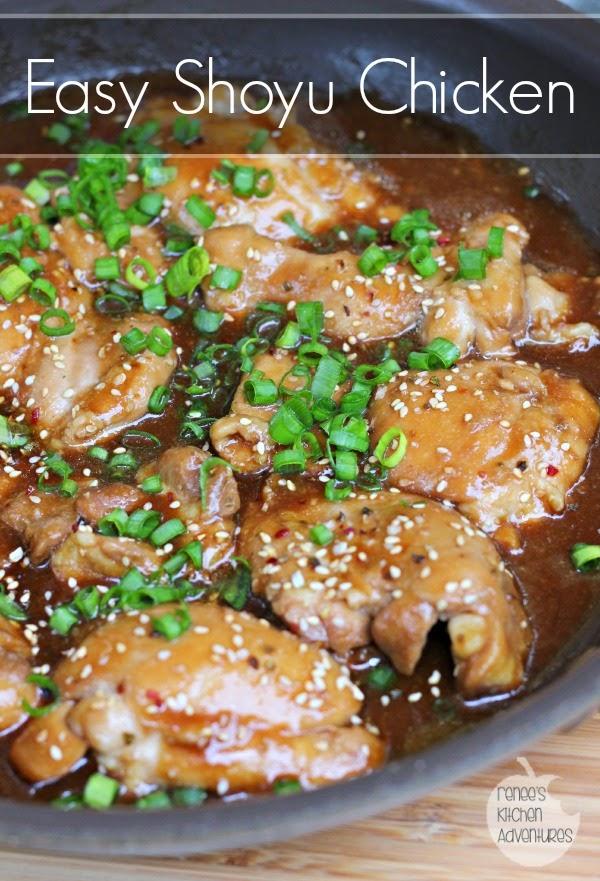 Easy Shoyu Chicken:  Great weeknight meal!